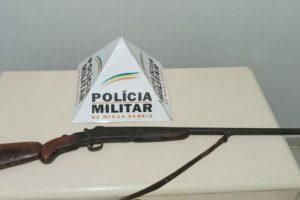 Sericita: PM apreende arma de fogo na zona rural