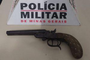 Plantão PM: Arma e drogas apreendidas em Manhuaçu
