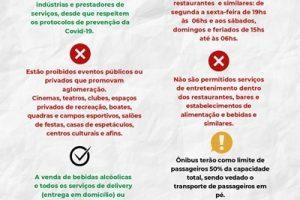 Prefeitura decreta regras para funcionamento do comércio em Manhuaçu