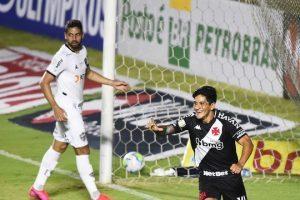 Brasileirão: Vasco faz 3 a 2 no Atlético