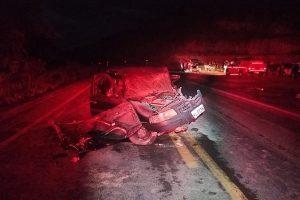 Região: Acidente com vítima fatal na BR 116