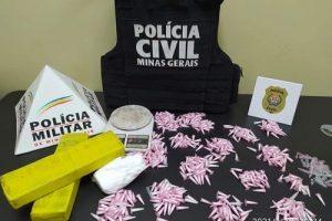 Tráfico em Ipanema: PM e PC prendem traficantes e apreendem drogas