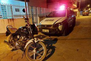 Veículo furtado é recuperado pela PM em Caputira