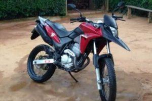Motocicleta é roubada na zona rural de Ipanema