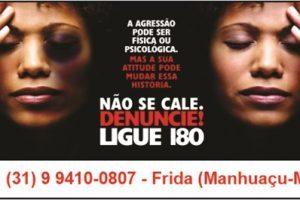 Mulher é agredida pelo companheiro, filha pede socorro pela FRIDA e homem é preso