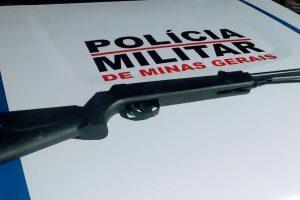 Arma de caça é retirada de circulação em Manhuaçu