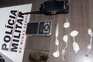 Manhuaçu: PM prende autores de tráfico e apreende drogas