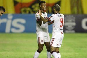 Flamengo reassume a vice-liderança do Brasileirão