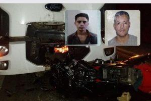 Dois jovens de 23 anos morrem em acidente na BR 116