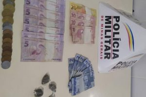 Reduto: PM apreende menor, drogas e dinheiro
