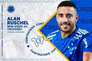 Cruzeiro anuncia contratação de Alan Ruschel