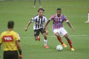 Atlético empata com o Bahia e título fica difícil