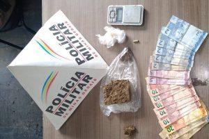 Drogas são apreendidas em dois bairros de Manhuaçu