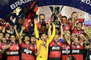 Flamengo comemora o octacampeonato brasileiro