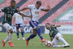 Cruzeiro arranca empate no fim contra o Uberlândia