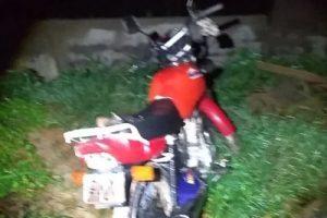 Lajinha: PM recupera moto e prende autor de furto
