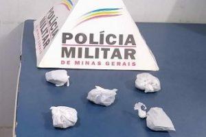 Drogas apreendidas no bairro São Francisco de Assis