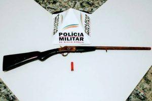 Reduto: PM retira mais uma arma de fogo de circulação