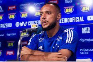 Felipe Augusto mira mais gols pelo Cruzeiro