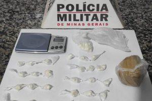 Traficante é preso em Matipó; Drogas apreendidas
