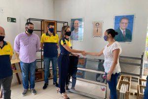 Rotary entrega forno industrial para a APAC