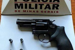 Região: PM retira mais uma arma de fogo de circulação