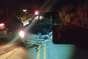Preso motorista que fugiu do local de acidente em Reduto
