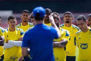 Cruzeiro tem semana livre para treinamentos