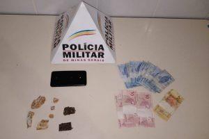 PM apreende drogas e dinheiro em Reduto