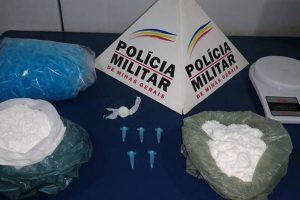Traficante é preso pela PM em Manhuaçu