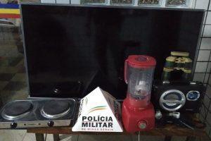 Manhuaçu: PM prende autores de receptação e recupera material furtado