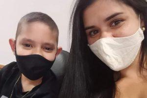 Manhuaçu: Família busca doador de medula para menino de 12 anos