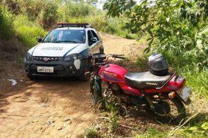 Manhuaçu: Motocicleta furtada é recuperada pela PM