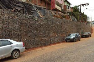 Concluída a construção do muro contenção do bairro Matinha
