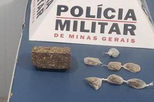 Drogas apreendidas em Manhuaçu e prisão de suspeito em Espera Feliz