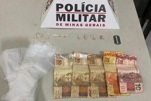 PM apreende menor com drogas e dinheiro em Manhumirim