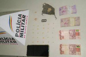 PM prende autor de tráfico e apreende drogas no bairro Santa Rita