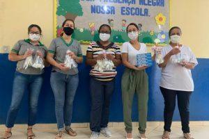 Saúde Bucal faz entrega de Kits para Escolas Públicas de Manhuaçu