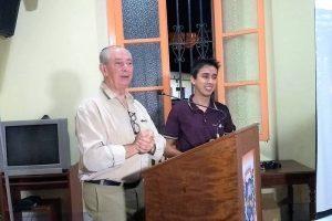 Radialista S.J. de Moraes é homenageado em Manhuaçu