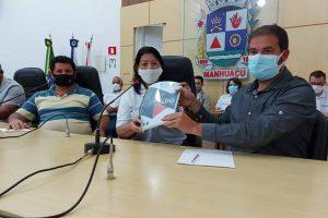Câmara recebe PL das Diretrizes Orçamentárias da Prefeitura de Manhuaçu