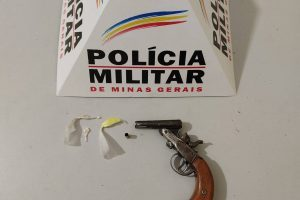Arma de fogo é apreendida em Lajinha