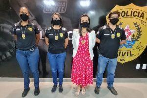 """PC efetua 1ª prisão por crime de """"Stalking"""" na Comarca de Manhuaçu"""