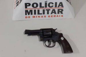 Arma de fogo é apreendida durante abordagem em Santa Margarida