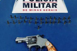Três armas são apreendidas em Manhuaçu e região