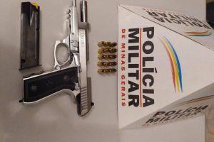 Polícia Militar apreende várias armas no fim de semana