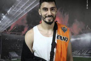 Atlético: Rafael passará por cirurgia no ombro direito