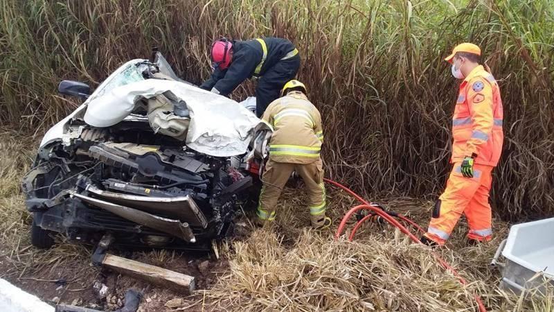 Acidente deixa jovem morto na BR 262 na região de Santa Margarida