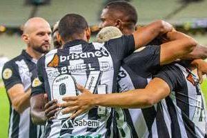 Atlético perde para o Ceará com gol no final da partida