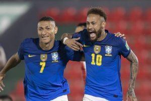Seleção Brasileira segue invicta e líder nas eliminatórias