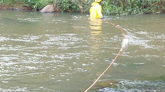 Corpo de homem de 29 anos é encontrado no Rio Manhuaçu